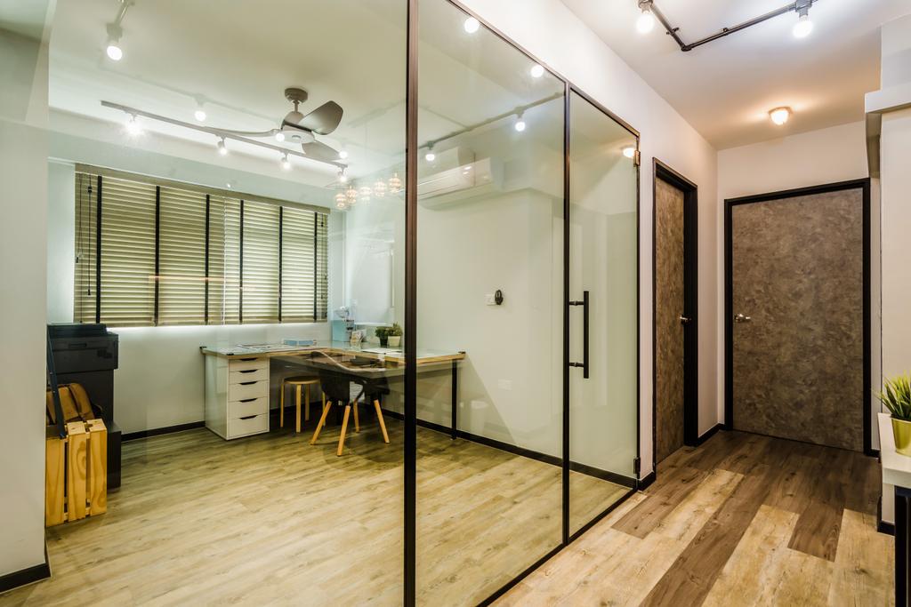 Contemporary, HDB, Yishun Avenue 4, Interior Designer, Dap Atelier