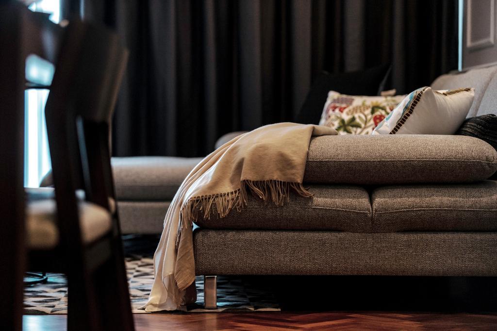 Modern, Landed, Living Room, Andaman, Penang, Interior Designer, Millewn Designs