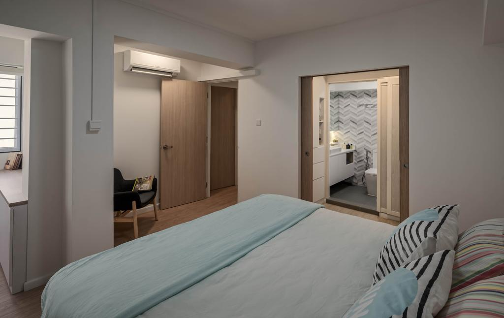 Scandinavian, HDB, Bedroom, Jelapang Road, Interior Designer, Zenith Arc
