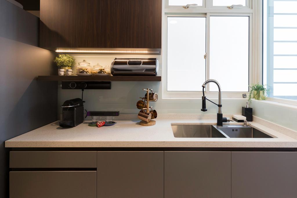 Contemporary, Condo, Kitchen, Costa Del Sol, Interior Designer, Image Creative Design