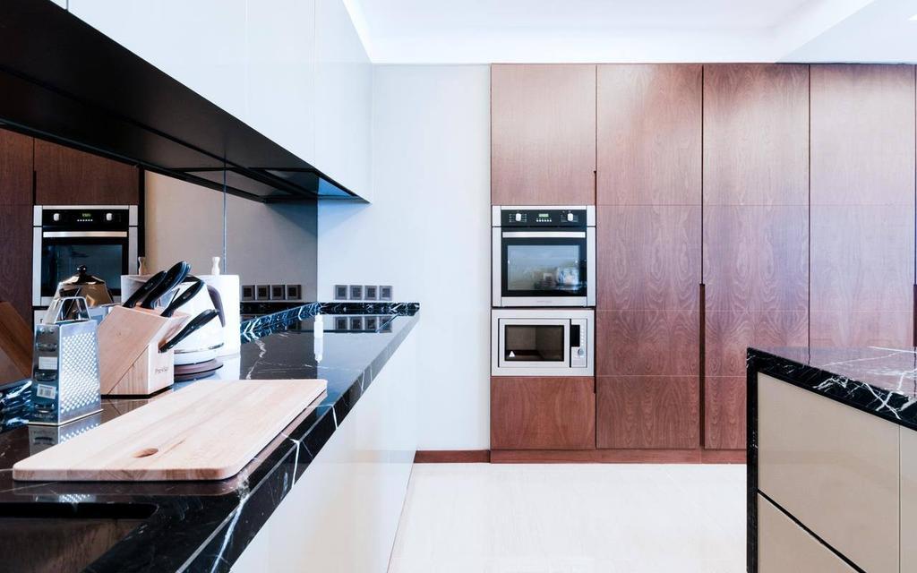 Contemporary, Landed, Kitchen, Penang, Interior Designer, Millewn Designs