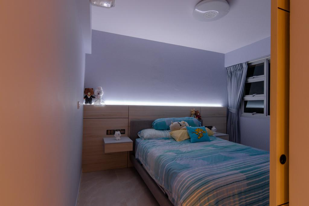 Scandinavian, HDB, Bedroom, Telok Blangah Street 31, Interior Designer, 9 Creation
