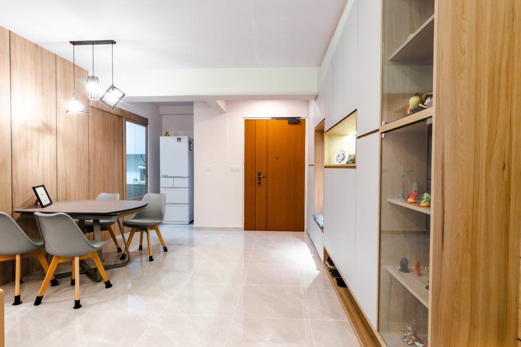Scandinavian, HDB, Dining Room, Telok Blangah Street 31, Interior Designer, 9 Creation