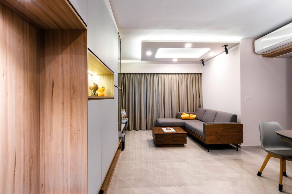 Scandinavian, HDB, Living Room, Telok Blangah Street 31, Interior Designer, 9 Creation