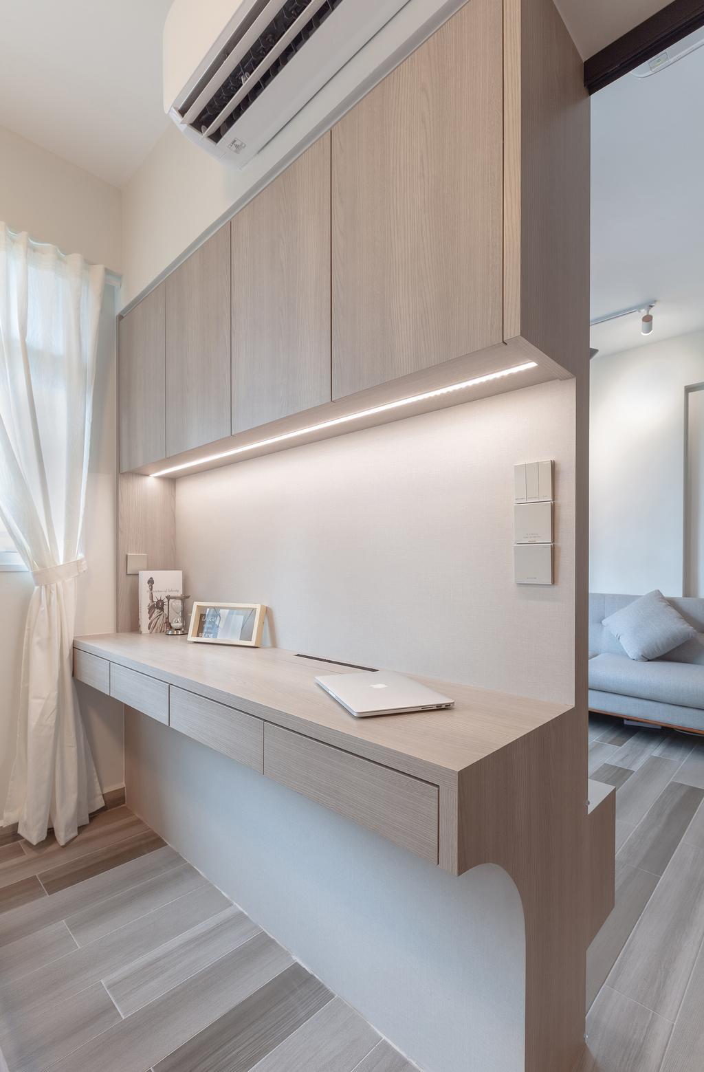 Contemporary, HDB, Bedroom, Bukit Batok West Avenue 6, Interior Designer, The Makers Design Studio