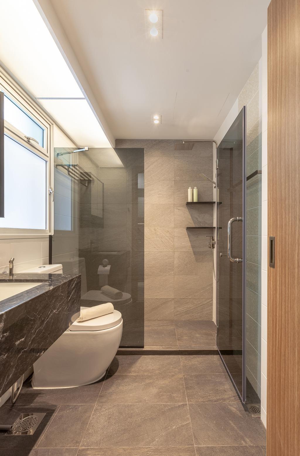 Contemporary, HDB, Bathroom, Bukit Batok West Avenue 6, Interior Designer, The Makers Design Studio