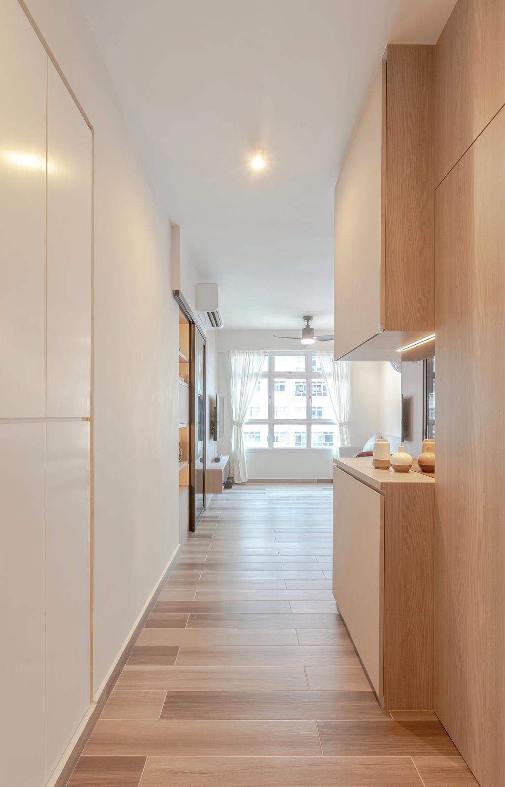 Contemporary, HDB, Living Room, Bukit Batok West Avenue 6, Interior Designer, The Makers Design Studio