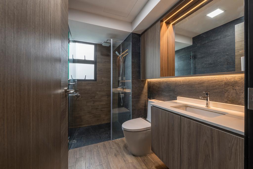 Contemporary, Condo, Bathroom, Woodsvale, Interior Designer, Adroit ID
