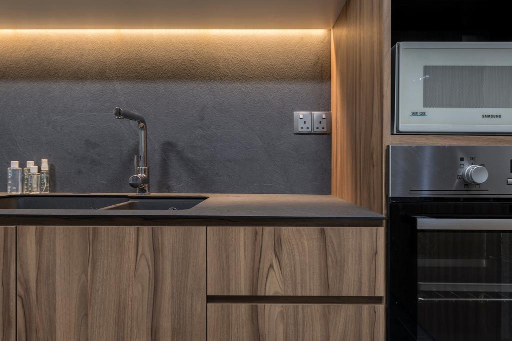 Contemporary, Condo, Kitchen, Woodsvale, Interior Designer, Adroit ID