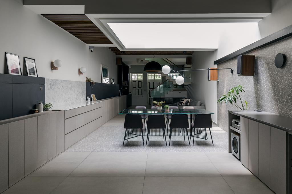 Contemporary, Landed, Dining Room, Joo Chiat Place, Interior Designer, Habit