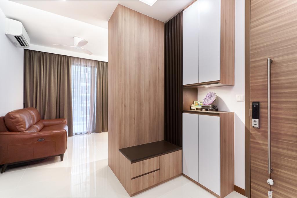 Contemporary, Condo, Living Room, Wandervale, Interior Designer, Charlotte's Carpentry