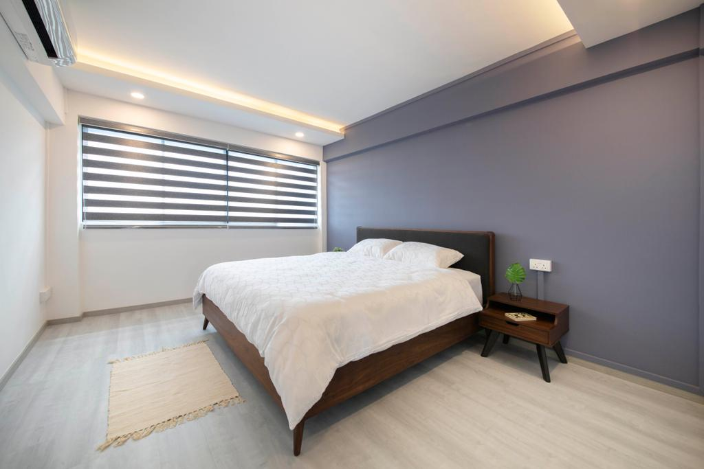 Contemporary, HDB, Bedroom, Hougang Avenue 5, Interior Designer, The Interior Place