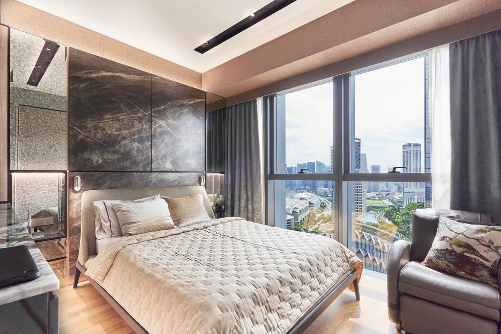 Contemporary, Condo, Bedroom, Duo Residences, Interior Designer, Free Space Intent