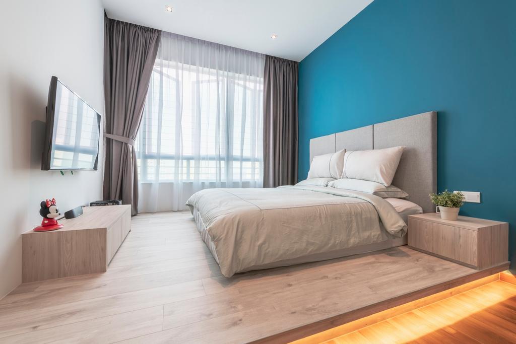 Scandinavian, Condo, Bedroom, Bishan Loft, Interior Designer, Meter Square