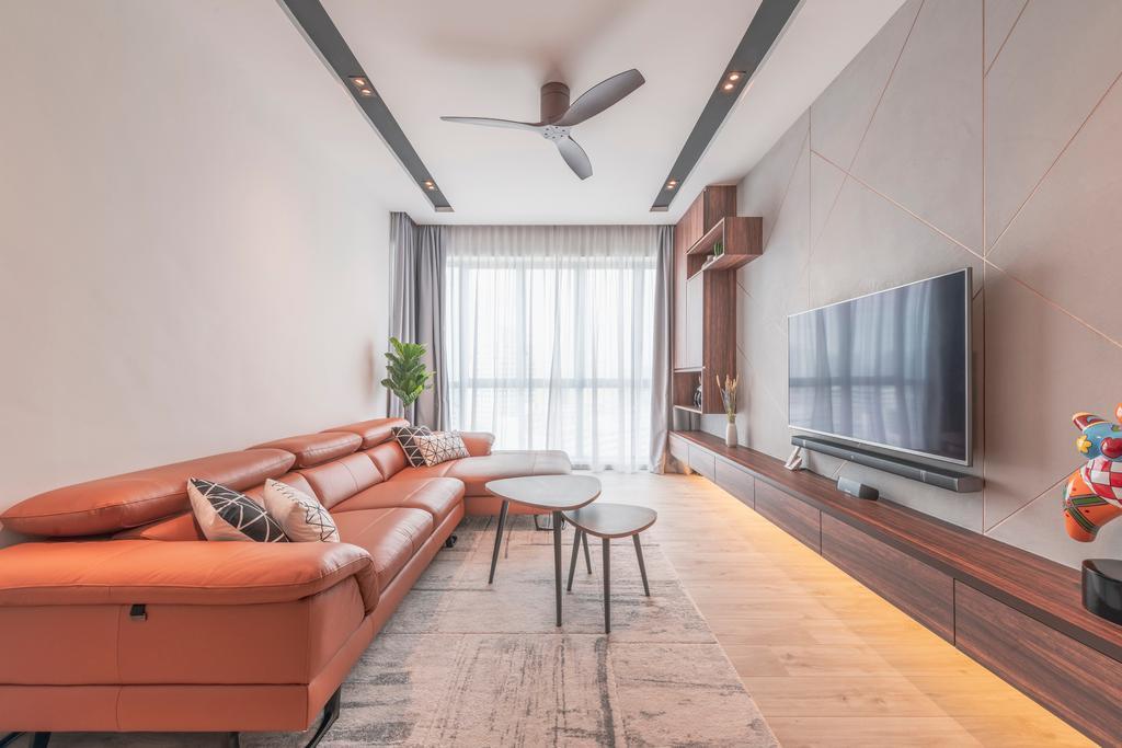 Scandinavian, Condo, Living Room, Bishan Loft, Interior Designer, Meter Square