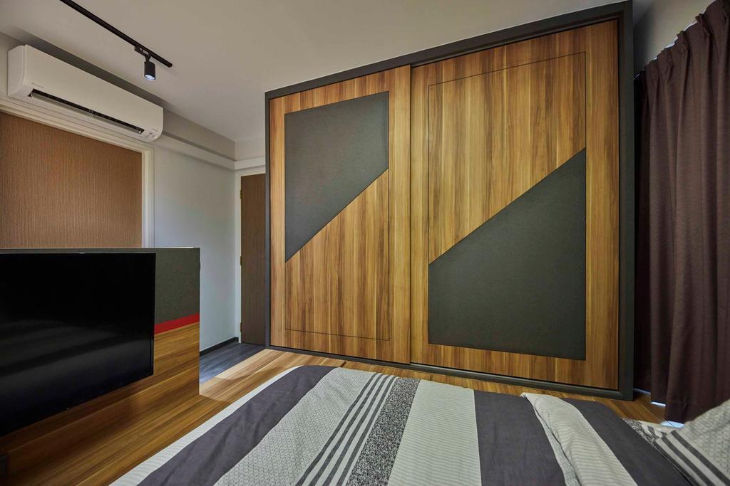 Contemporary, HDB, Bedroom, Compassvale Drive, Interior Designer, The Interior Lab