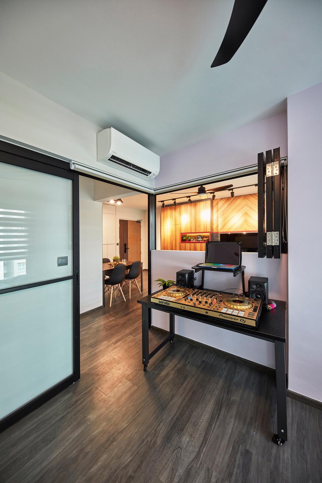 Contemporary, HDB, Compassvale Drive, Interior Designer, The Interior Lab