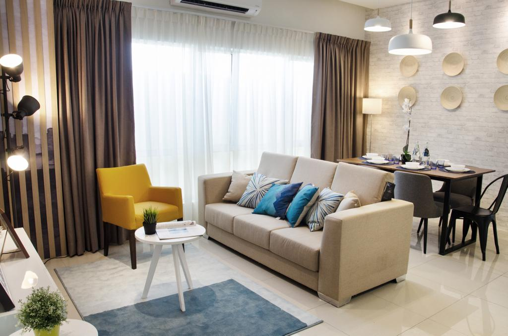 Modern, Landed, Living Room, Meru Heights Residences, Interior Designer, Nature Concept Contracts Sdn Bhd