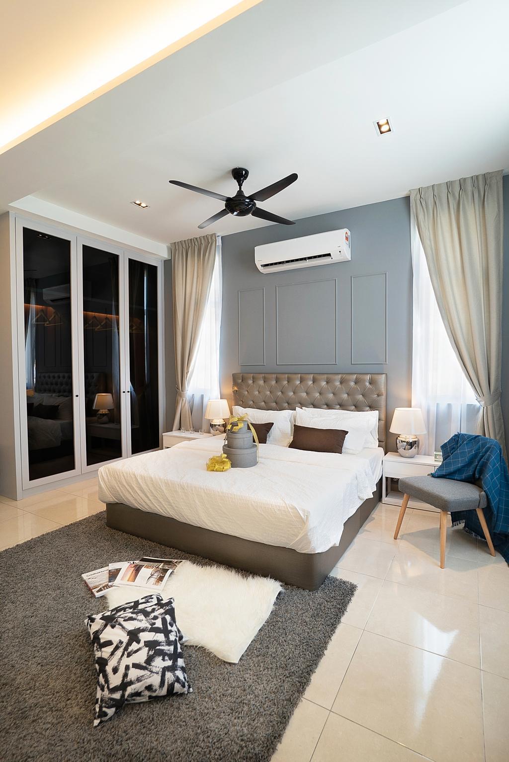 Modern, Landed, Bedroom, Dahlia Scientex Meru 2, Interior Designer, Nature Concept Contracts Sdn Bhd