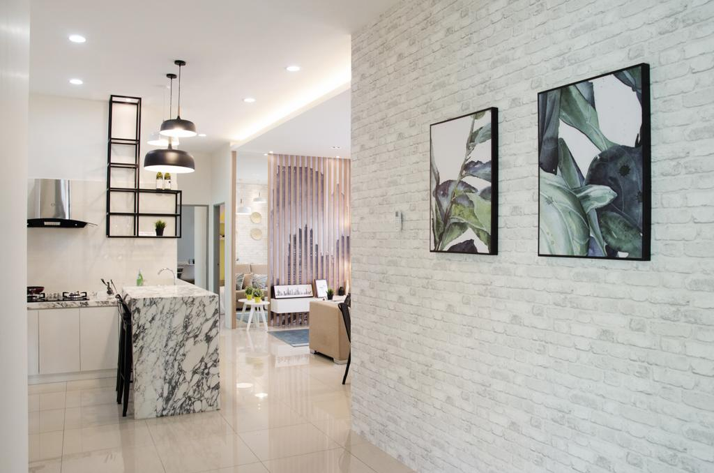 Modern, Landed, Kitchen, Meru Heights Residences, Interior Designer, Nature Concept Contracts Sdn Bhd