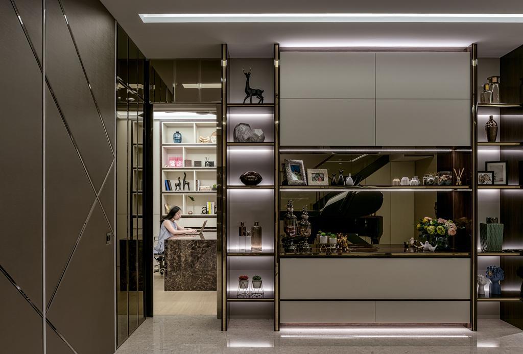 Modern, Landed, Study, Victoria Park Villas, Interior Designer, Summerhaus D'zign, Contemporary