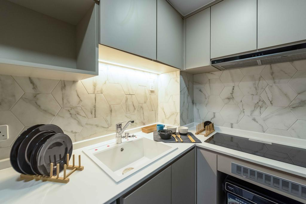 簡約, 私家樓, 廚房, 欣延軒, 室內設計師, Deco Farmer Studio