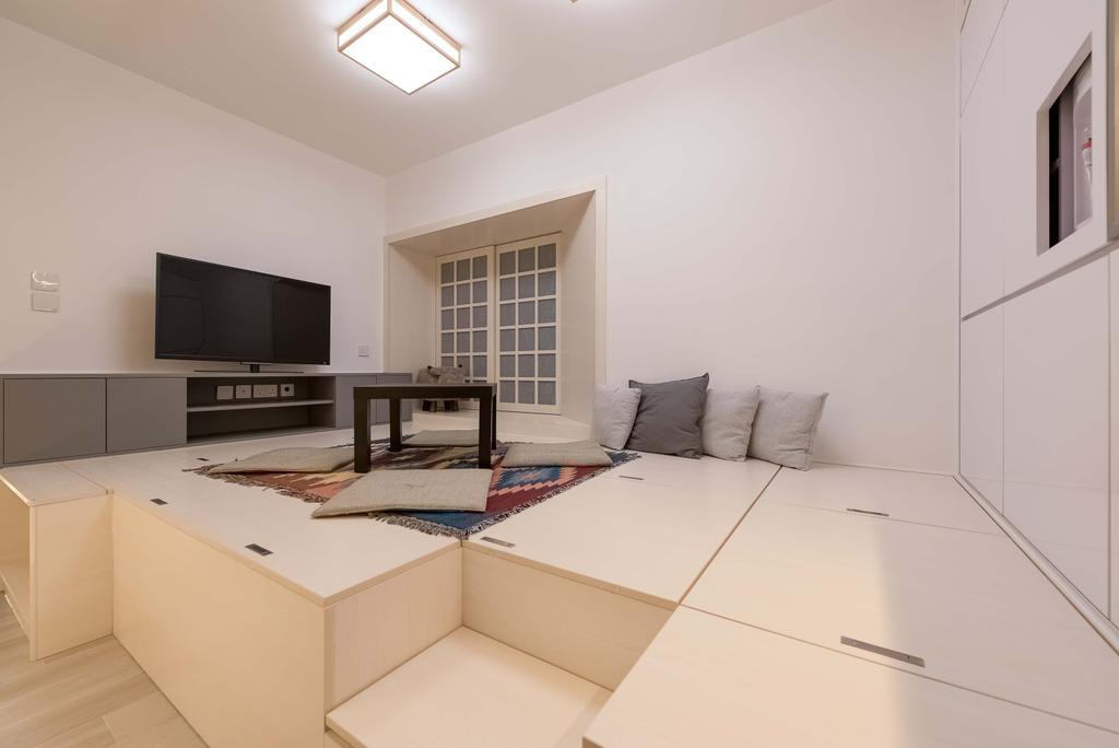 簡約, 私家樓, 客廳, 欣延軒, 室內設計師, Deco Farmer Studio