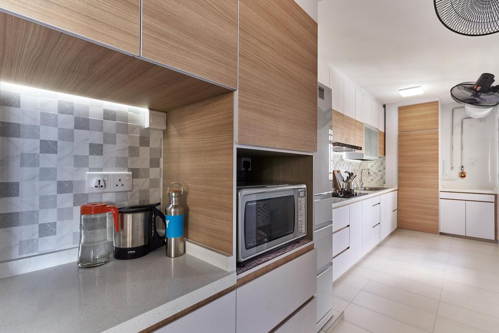 Transitional, HDB, Tanglin Road, Interior Designer, Craftsmen Atelier
