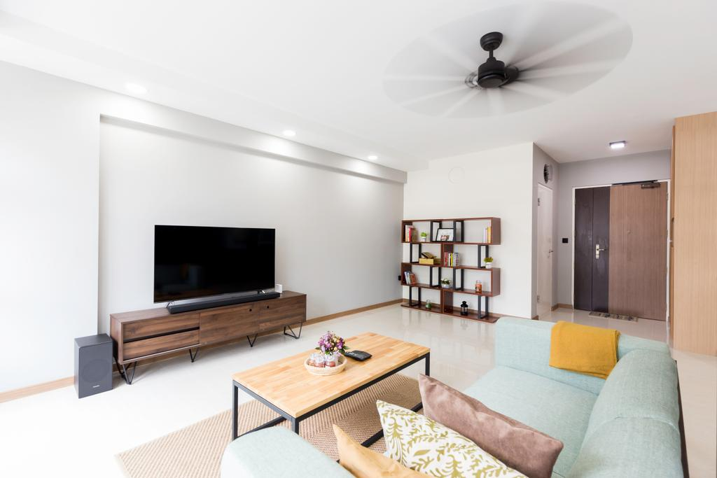 Contemporary, HDB, Living Room, Bukit Batok West Avenue 8, Interior Designer, Tab Gallery