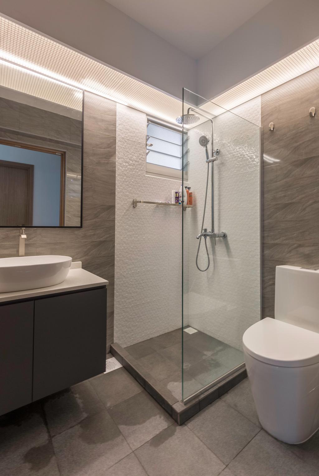 Contemporary, HDB, Bathroom, Bukit Batok West Avenue 8, Interior Designer, Tab Gallery