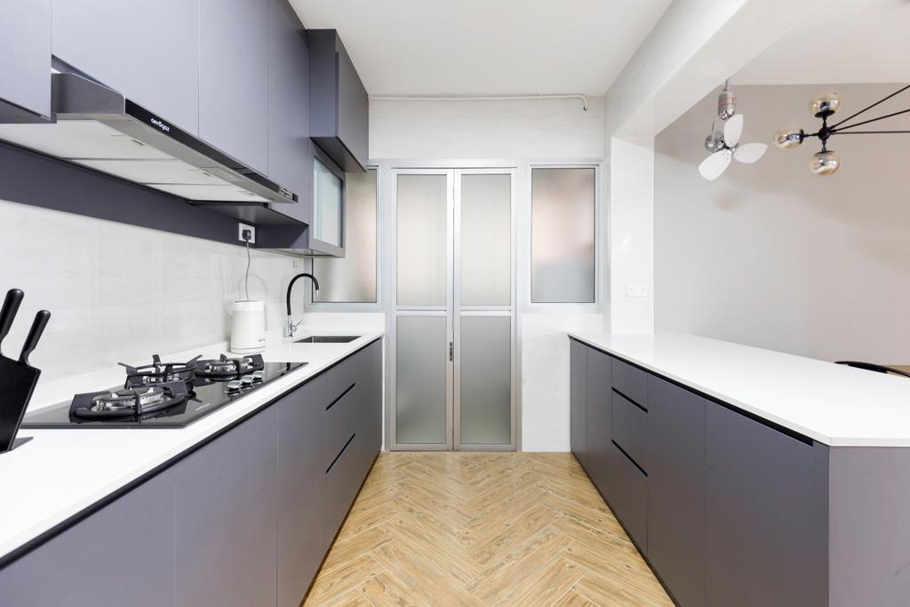 Contemporary, HDB, Kitchen, Bukit Batok West Avenue 8, Interior Designer, Tab Gallery