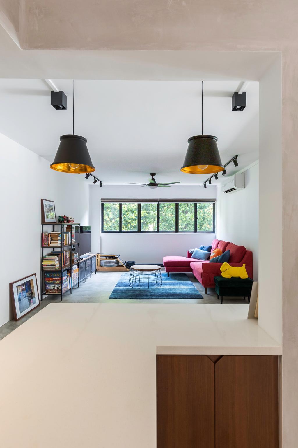 Contemporary, HDB, Living Room, Jalan Bukit Merah, Interior Designer, Stylemyspace