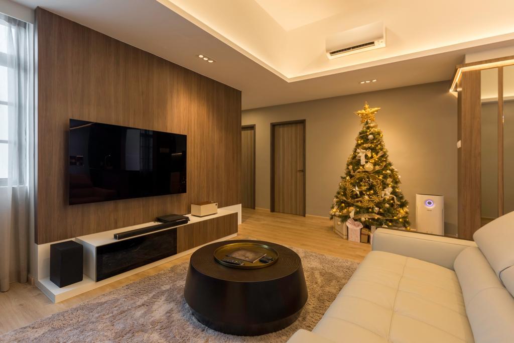 Contemporary, Condo, Living Room, Camillia Lodge, Interior Designer, Ciseern