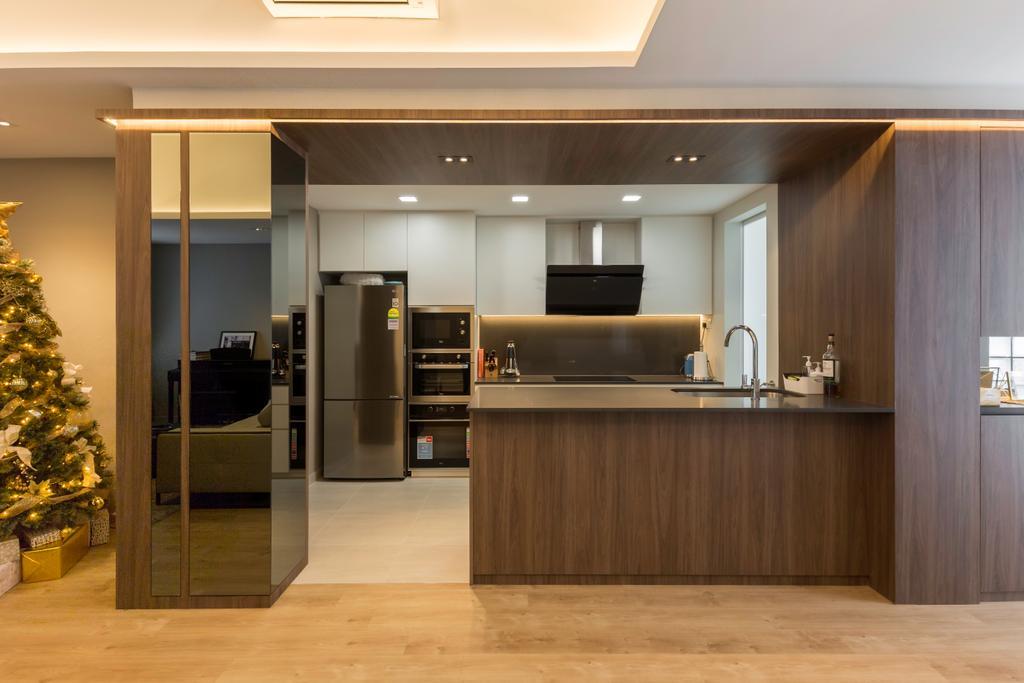 Contemporary, Condo, Kitchen, Camillia Lodge, Interior Designer, Ciseern