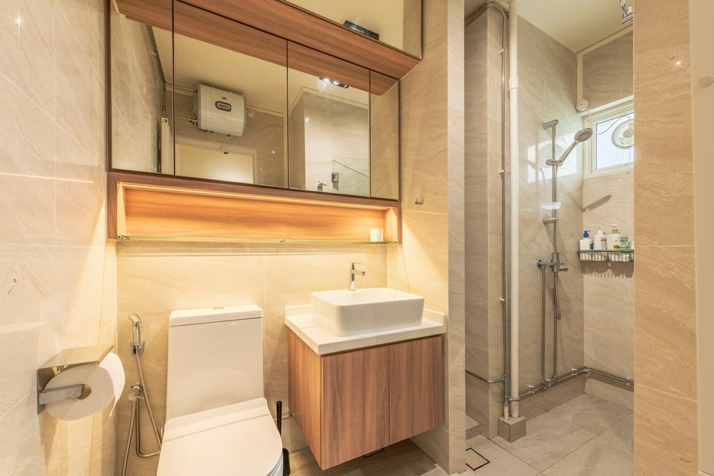 Scandinavian, HDB, Bathroom, Bishan Street 13, Interior Designer, The Design Practice