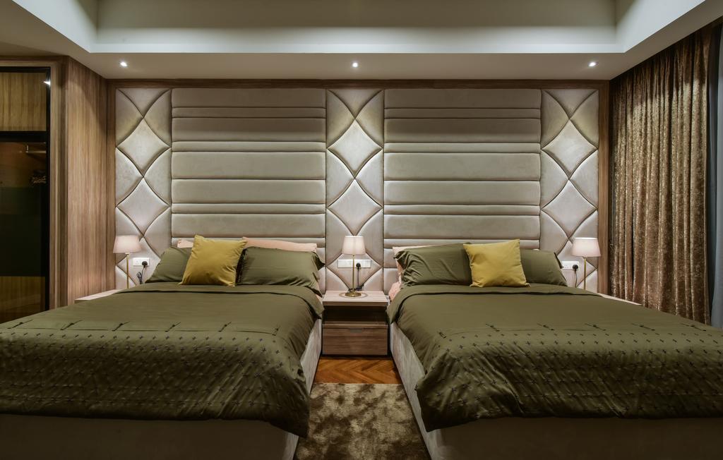 Modern, Landed, Bedroom, Rimbun, Ampany Hilir, Interior Designer, Blaine Robert Design Sdn. Bhd.