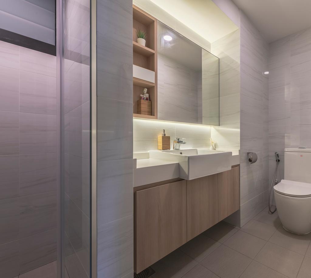 Contemporary, Condo, Bathroom, Woodsvale, Interior Designer, Omni Design