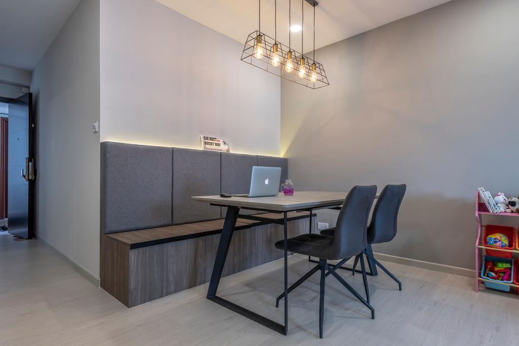 Contemporary, Condo, Dining Room, Woodsvale, Interior Designer, Omni Design