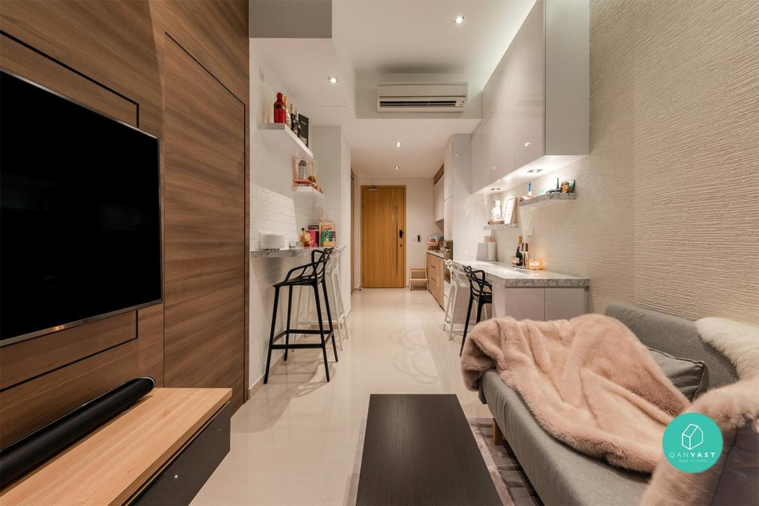 This 1+1 Apartment Shows How to Live Large in a Small Space