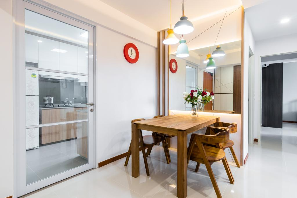 Contemporary, HDB, Dining Room, Toa Payoh East, Interior Designer, 9 Creation