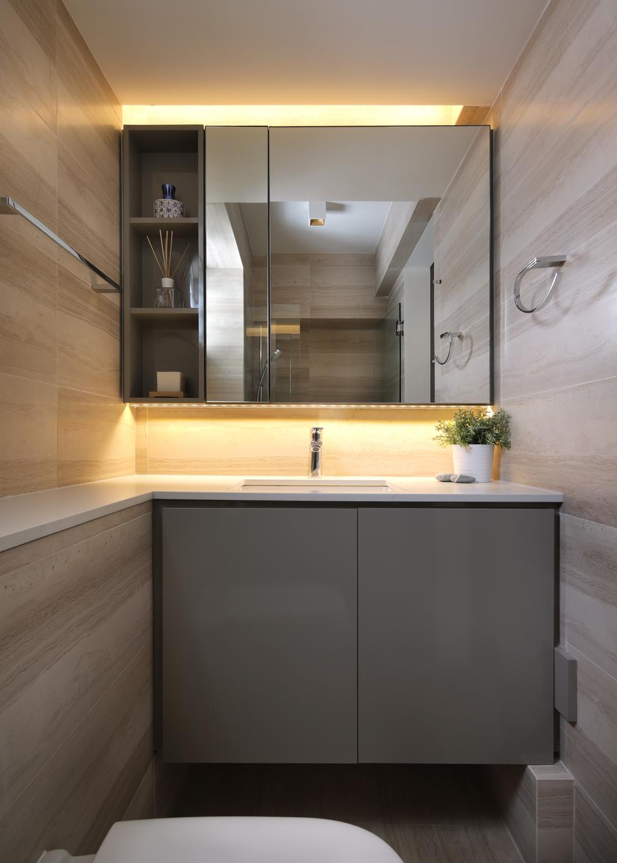 Contemporary, HDB, Bathroom, Marsiling Rise, Interior Designer, Prozfile Design