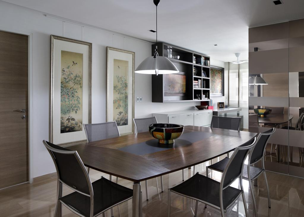 Contemporary, HDB, Dining Room, Marsiling Rise, Interior Designer, Prozfile Design