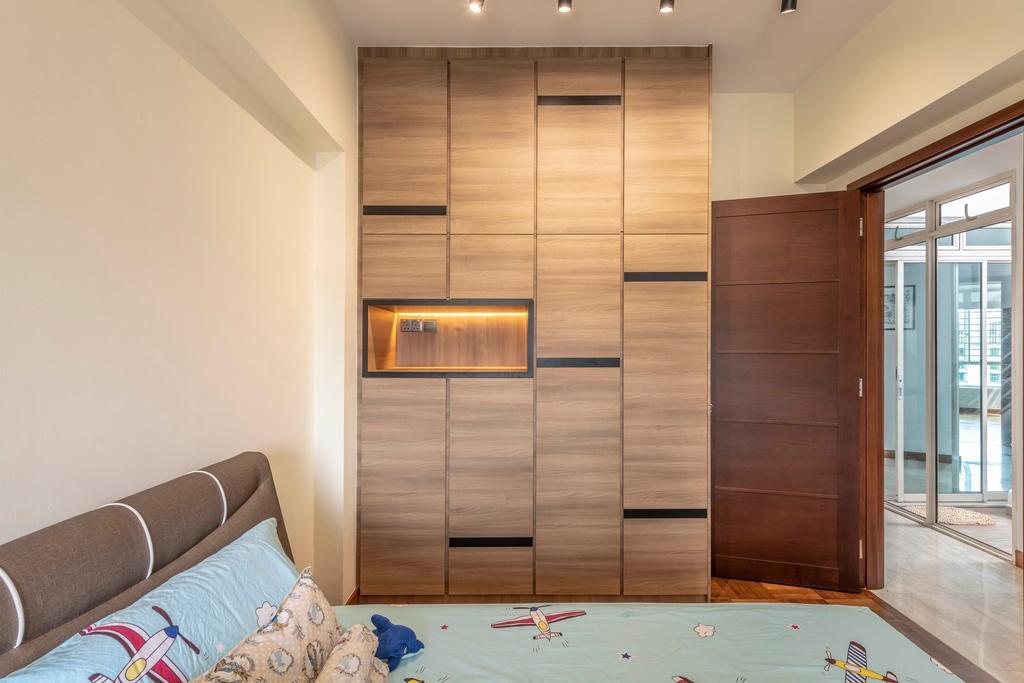 Contemporary, Condo, Bedroom, Hillington Green, Interior Designer, Escapade Studios