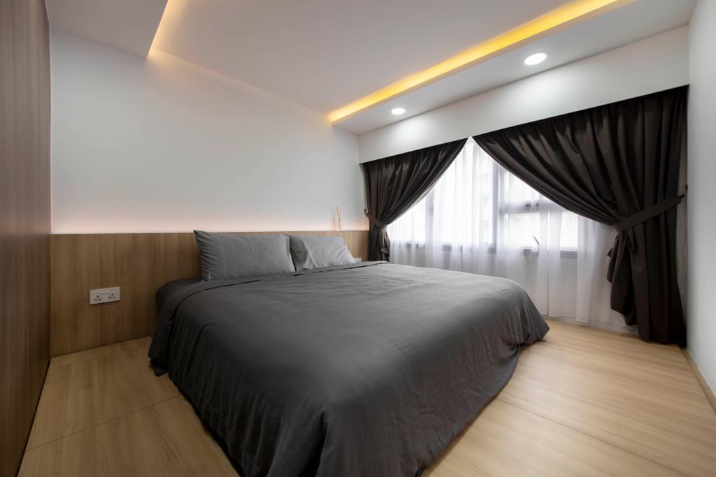 Contemporary, HDB, Bedroom, Woodlands Rise, Interior Designer, Tab Gallery