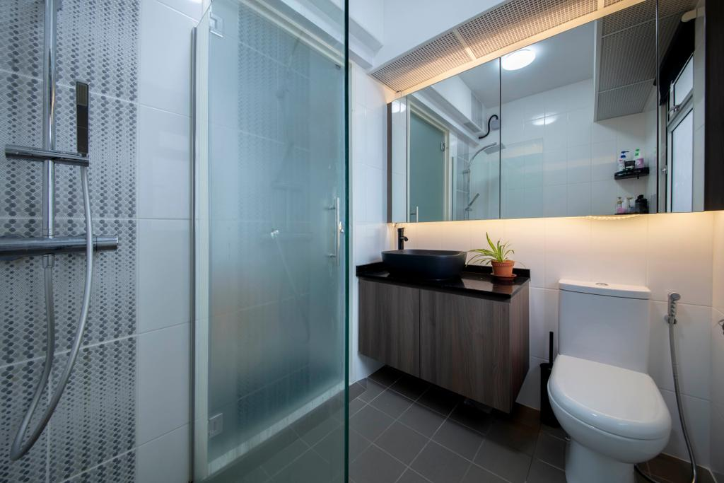 Contemporary, HDB, Bathroom, Woodlands Rise, Interior Designer, Tab Gallery