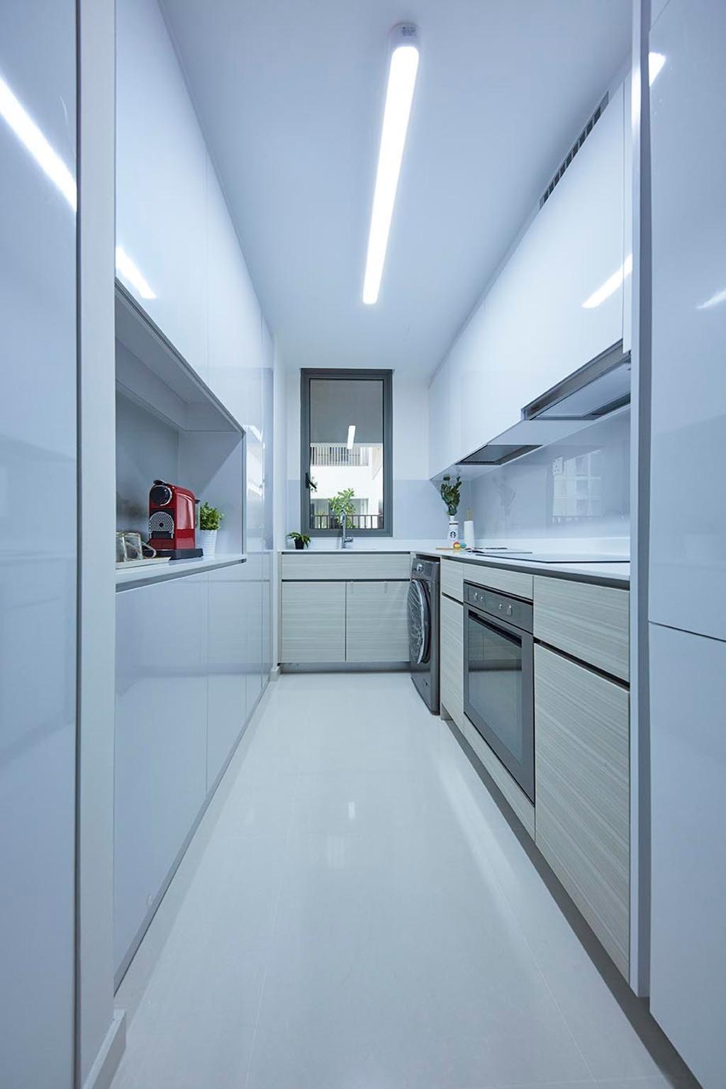 Contemporary, Condo, Kitchen, TRE Residences, Interior Designer, The Interior Lab