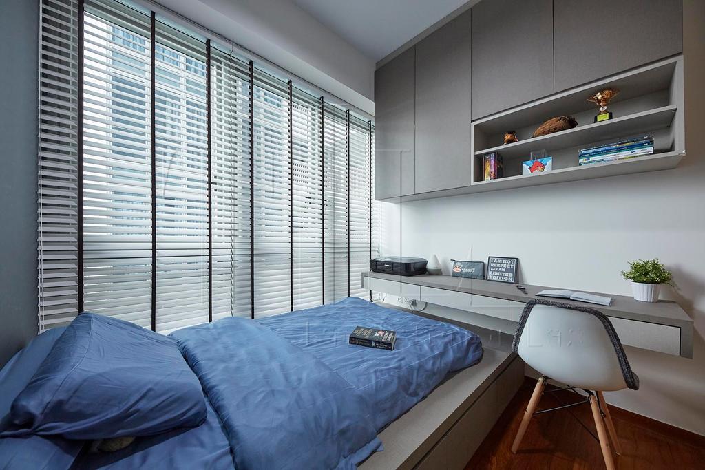 Contemporary, Condo, Bedroom, TRE Residences, Interior Designer, The Interior Lab