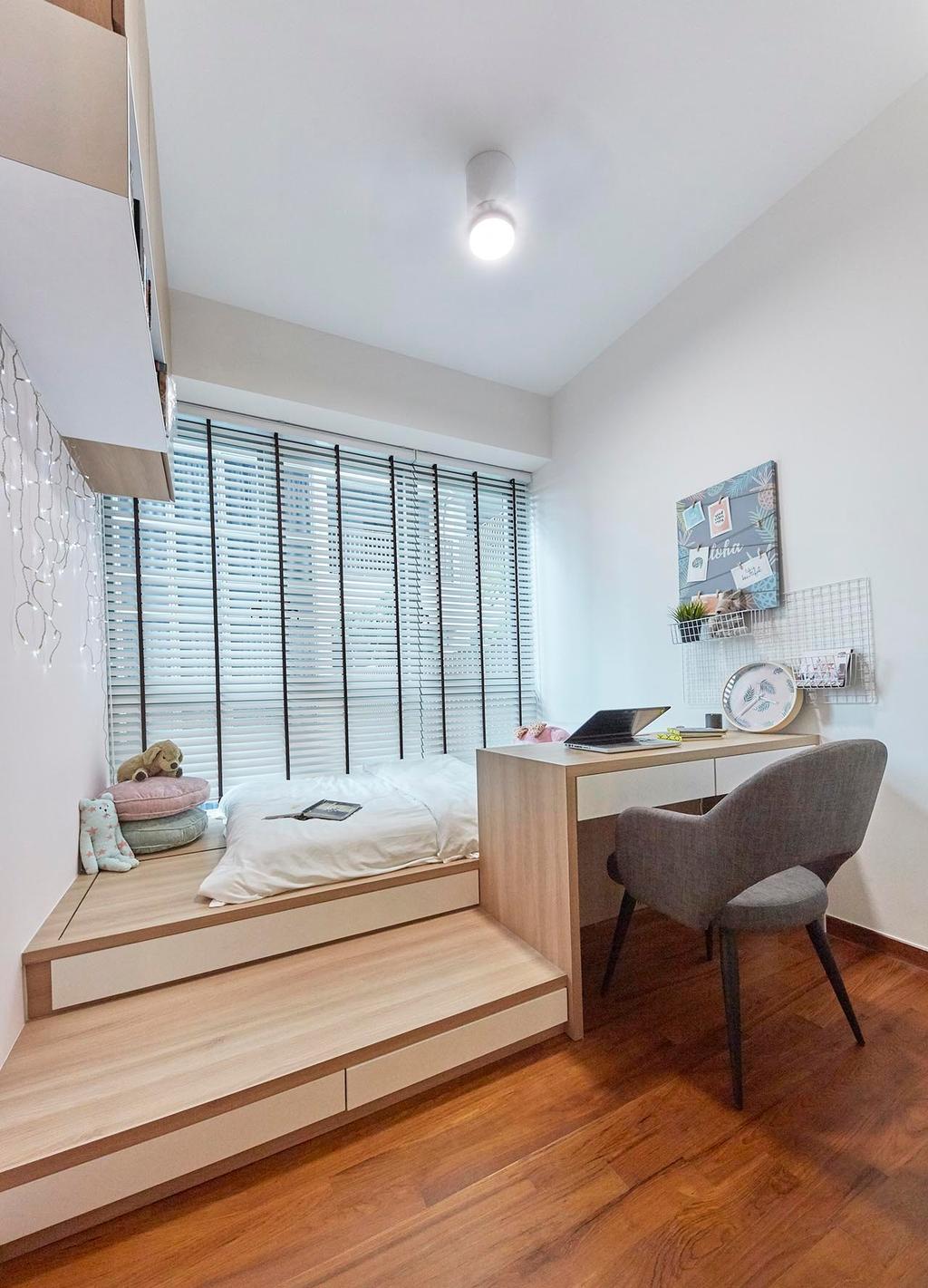 Contemporary, Condo, Study, TRE Residences, Interior Designer, The Interior Lab