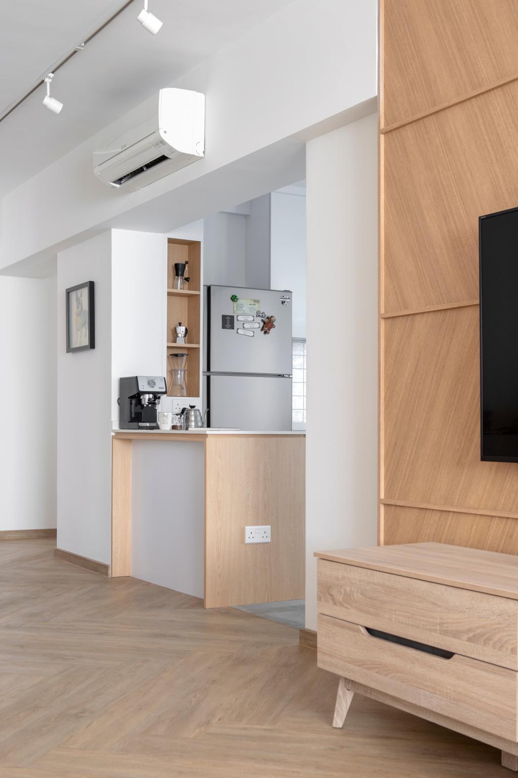 Minimalistic, HDB, Living Room, Choa Chu Kang Avenue 4, Interior Designer, Neu Konceptz
