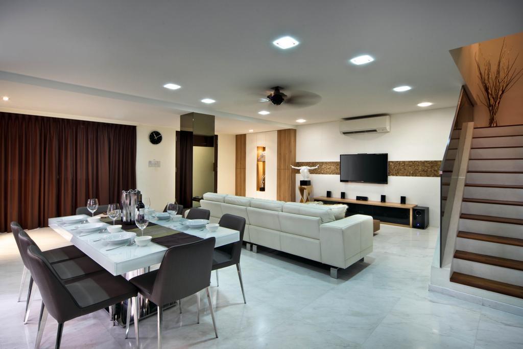 Traditional, Landed, Living Room, Jurong Kechil, Interior Designer, Neu Konceptz